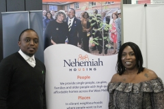 Caron and member of Nehemiah