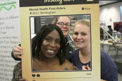 Caron Thompson and Student wellbeing team of BCU