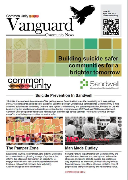 Common Unity Vanguard issue 1
