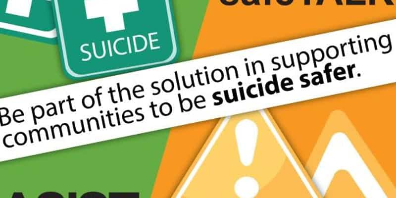 Applied Suicide Intervention Skills Training – Feb 14th-15th 2019