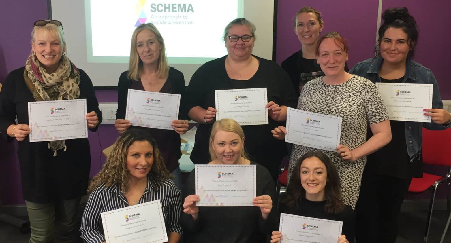 Schema suicide prevention training Coventry and Birmingham