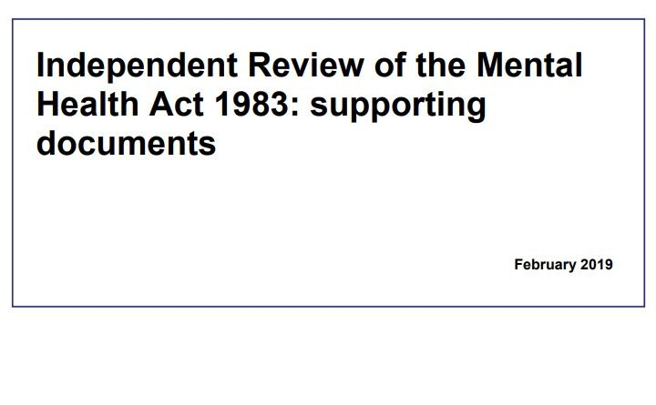 Independent Review of the Mental Health Act 1983: supporting documents