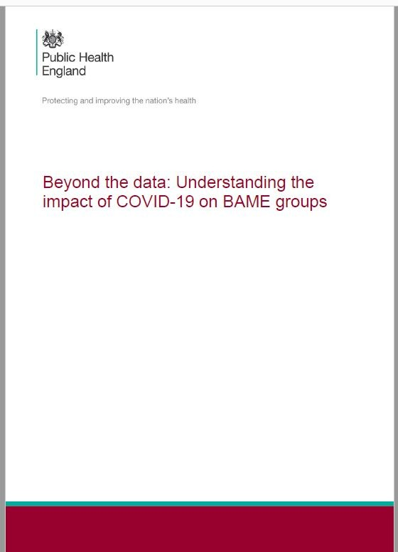Beyond the data: Understanding the impact of COVID-19 on BAME groups
