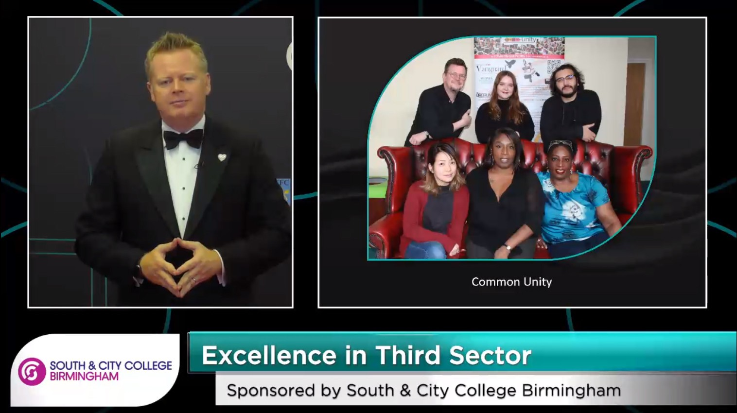 Common-Unity and the Excellence in Third Sector Award